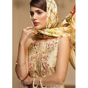 Anaya by Kiran Chaudhry 10 GILDED TRELLIS | Embroidered, Printed Fully Stitched Women's Suit - Eid Collection