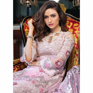 AlZohaib | Mahiymaan Luxury Lawn 21 | Design 03 - House of Faiza