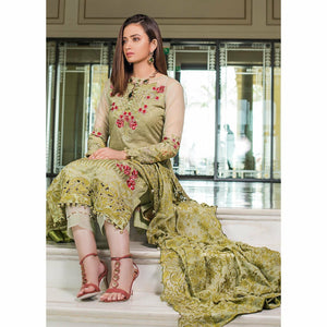 AlZohaib | Mahiymaan Luxury Lawn 21 | Design 05 - House of Faiza