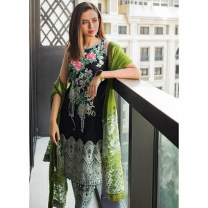 AlZohaib | Mahiymaan Luxury Lawn 21 | Design 08B - House of Faiza