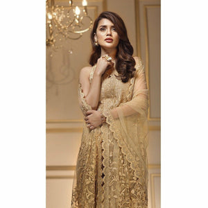 Anaya by Kiran Chaudhry 07 GOLDEN HARVEST | Embroidered Fully Stitched Women's Suit - Eid Collection
