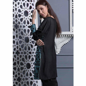 Areeba Saleem Embroidered Two Piece Kurti ZS-09