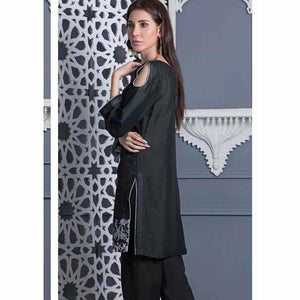 Areeba Saleem Embroidered Two Piece Kurti ZS-12