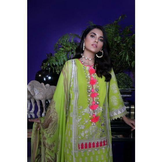 Pakistani designer SUIT UK SANA SAFINAZ NEW COLLECTION