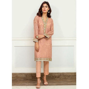 Iznik | Festive Collection '19 - D-01 PEACH DUST (2PC)