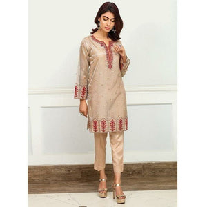Iznik | Festive Collection '19 - D-02 HONEY PEACH (2PC)
