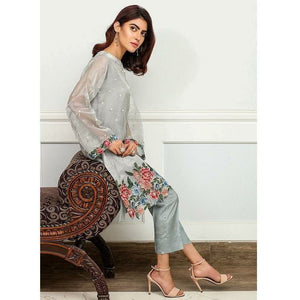 Iznik | Festive Collection '19 - D-04 PIGEON GREY (2PC)