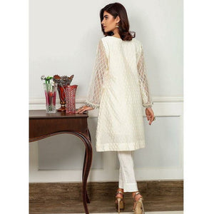 Iznik | Festive Collection '19 - D-10 WHISPER WHITE (2PC)