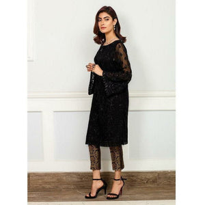 Iznik | Festive Collection '19 - D-11 JET BLACK (2PC)