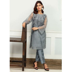 Iznik | Festive Collection '19 - D-15 ICE FLOW (2PC)