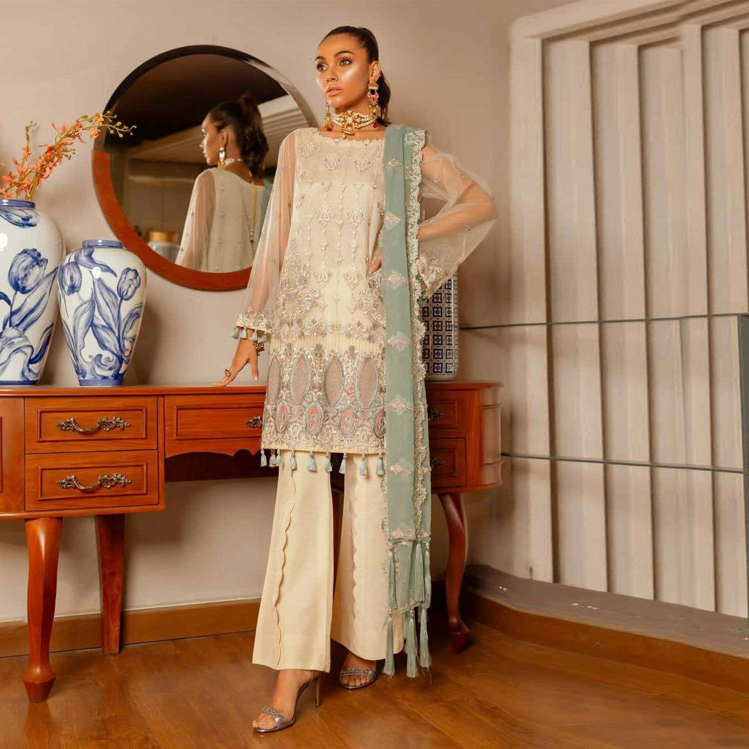 pakistani designer suit new collection