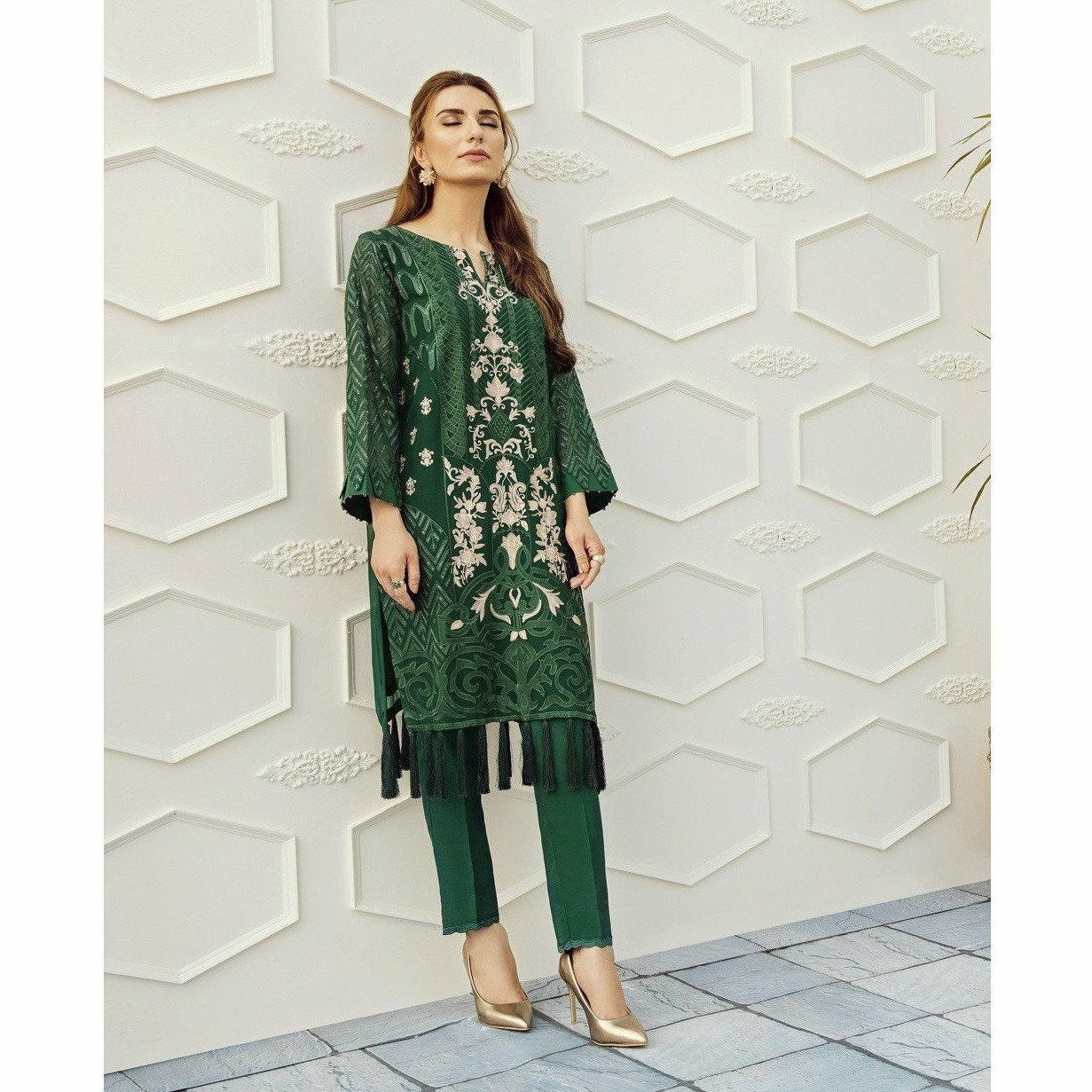 XENIA | LUXURY FORMALS | STRIKING GREEN