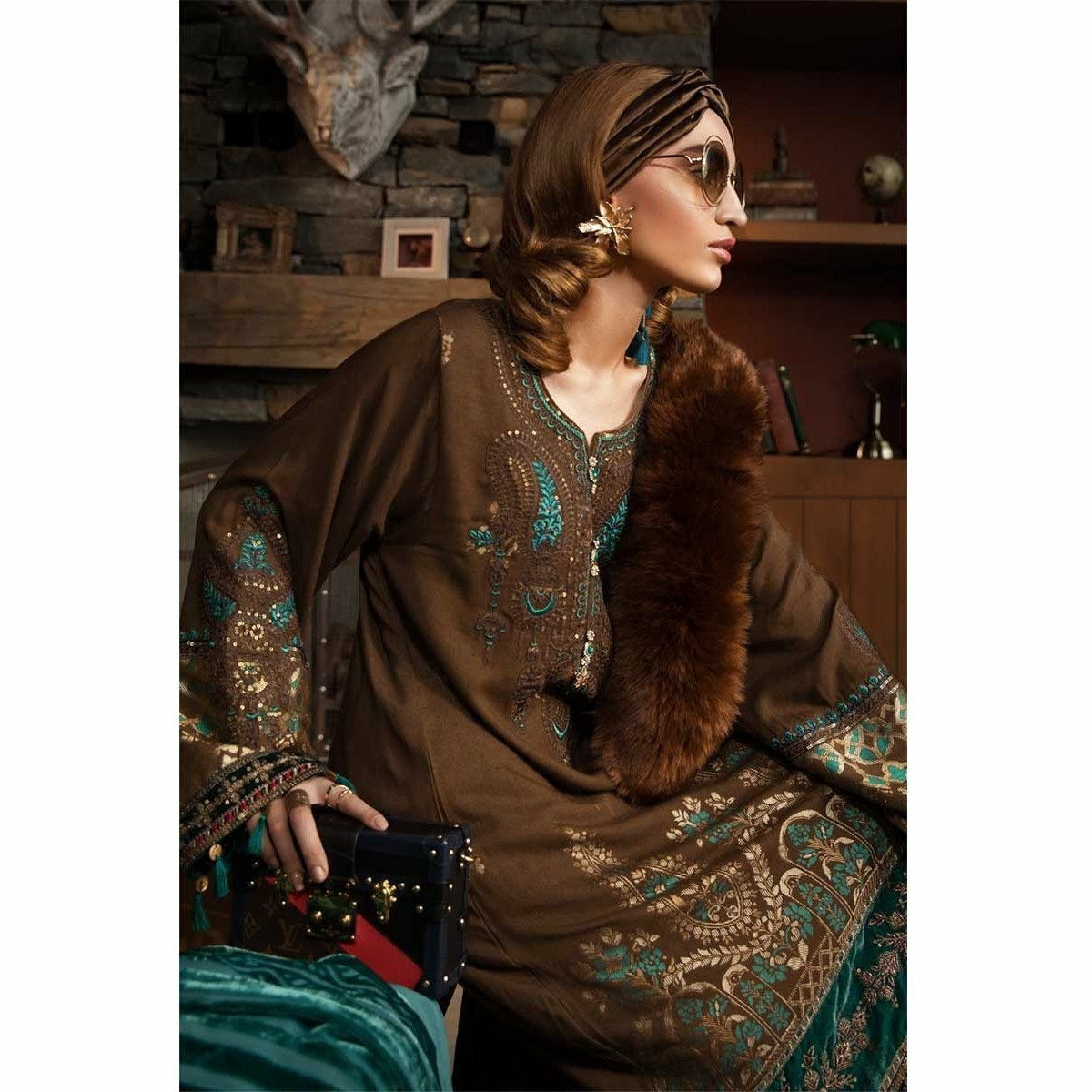 MARIA.B | LINEN | DL-702-Brown