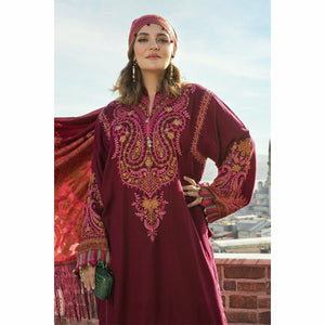 LINEN 20 | DL-808-Deep Pink - House of Faiza