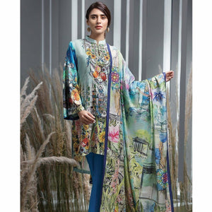 Ittehad UK digital printed women's shirt trouser with printed duppata. pakistani designer suits, cheap womens clothes, womens clothing, dresses for women, pakistani clothes online uk, asian clothing online, pakistani designer suits, pakistani dresses online, asian clothing,