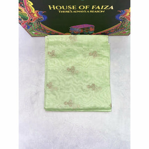 HOF | BRIDAL UNSTITCHED EMBROIDERED | 02 - House of Faiza