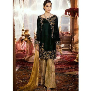 Iznik Festive Velvet Collection JUNGLE GREEN - (IVC-02)