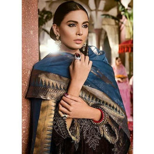 Iznik Festive Velvet Collection CHOCOLATE BROWN - (IVC-06)