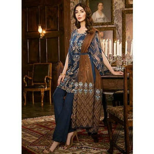 Iznik Festive Chiffon Collection - PERSIAN BLUE (IZK 04)