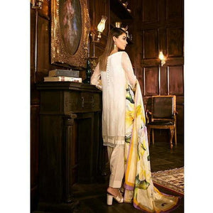 Iznik Festive Chiffon Collection - VICTORIAN WHITE (IZK 05)