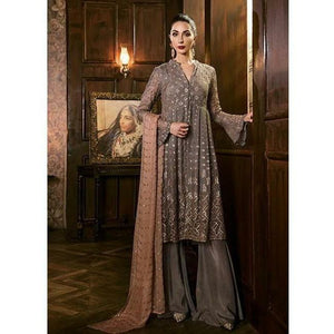 Iznik Festive Chiffon Collection - SMOKED GREY (IZK 10)