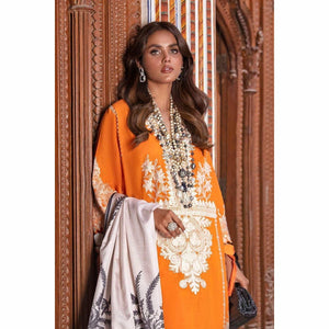 Sana Safinaz | Luxury Lawn 21 | L211-010B-CL - House of Faiza
