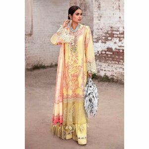 Sana Safinaz | Luxury Lawn 21 | L211-016B-CV - House of Faiza