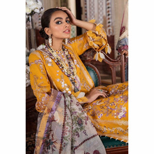 Sana Safinaz | Luxury Lawn 21 | L211-005B-CV - House of Faiza