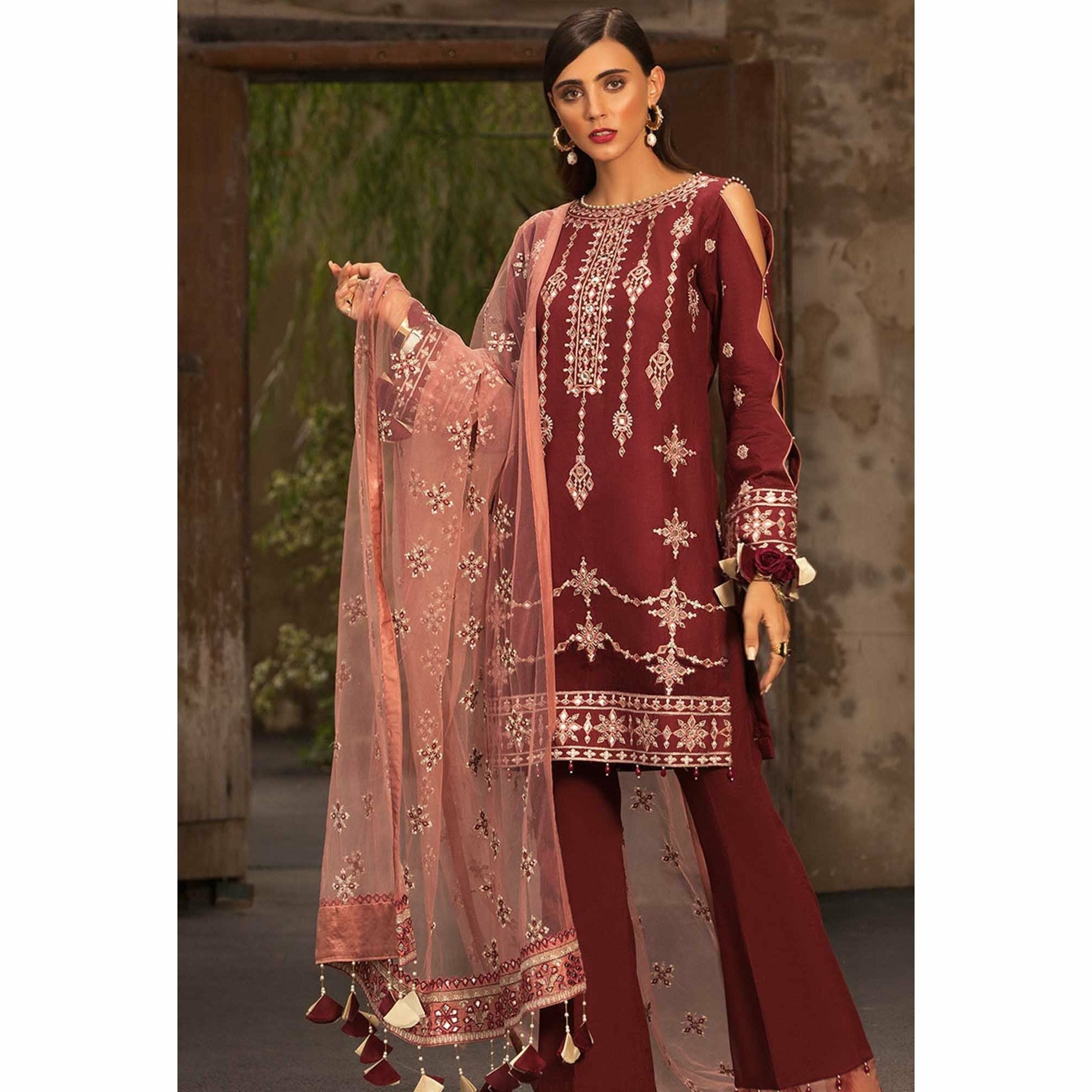 Noor by Saadia Asad | Luxury Lawn 19 - 09-A