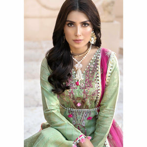 Noor by Saadia Asad | Luxury Lawn 20 | D10-A - House of Faiza