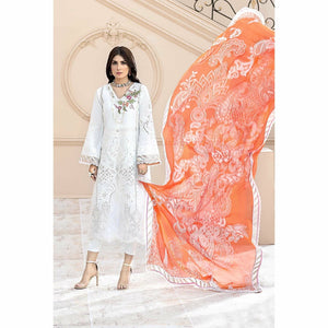Noor by Saadia Asad | Luxury Lawn 20 | D02-A - House of Faiza