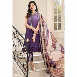Noor by Saadia Asad | Luxury Lawn 20 | D04-B - House of Faiza