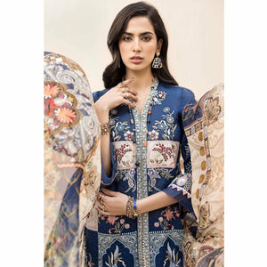 Noor by Saadia Asad | Luxury Lawn 20 | D05-A - House of Faiza