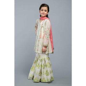 Suit White MKD-SS20-01 - House of Faiza