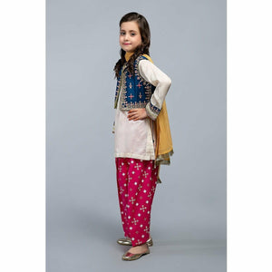 Suit Blue MKD-SS20-02 - House of Faiza