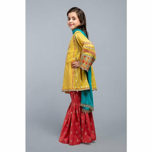 Suit Mustard MKD-SS20-04 - House of Faiza