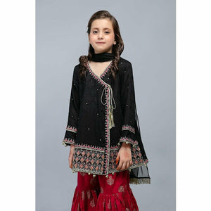 Suit Black MKD-SS20-13 - House of Faiza