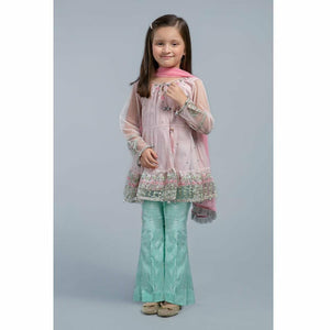 Suit Light Pink MKS-SS20-05 - House of Faiza