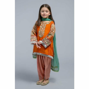 Suit Orange MKS-SS20-10 - House of Faiza