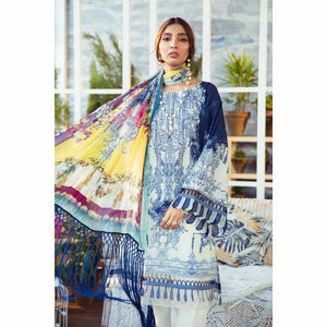 Maria.B. | M.Prints SS 21 | MPT-1007-B - House of Faiza