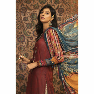 Maria.B | M.Prints Fall/Winter 20 | MPT-906-B - House of Faiza