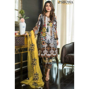 SIFONA ALLURE FIESTA Embroidered Women's Suit COLLECTION