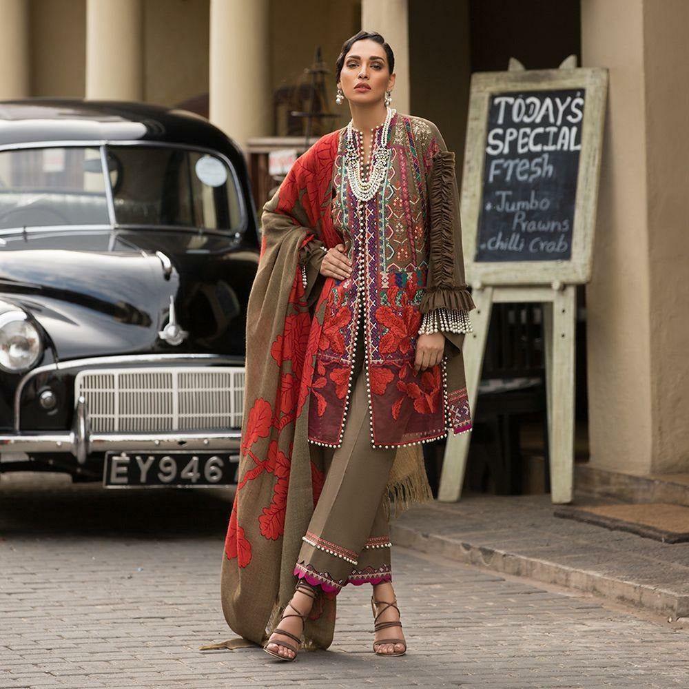 Sana Safinaz UK | Embroidered Pakistani Designer Suit,  pakistani designer suits, cheap womens clothes, womens clothing, dresses for women, pakistani clothes online uk, asian clothing online, pakistani designer suits, pakistani dresses online, asian clothing