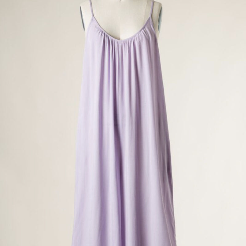 LA-LA LAVENDER JUMPSUIT COVER UP