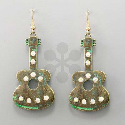 Play me a Guitar Earrings