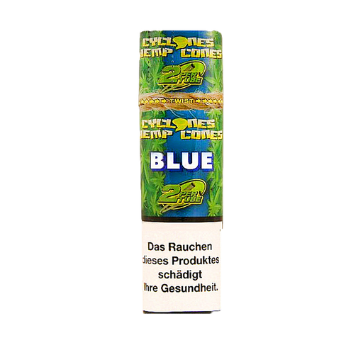 Cyclones Blunts Hemp Cones - Blue
