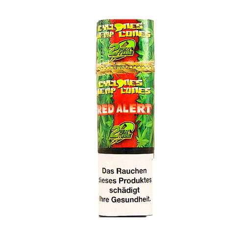 Cyclones Blunts Hemp Cones - Red Alert