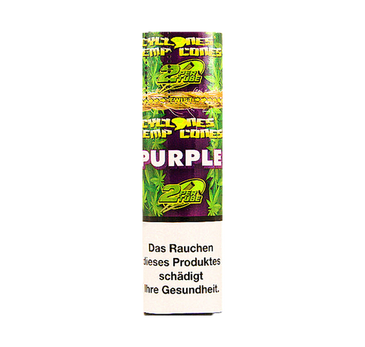 Cyclones Blunts Hemp Cones - Purple