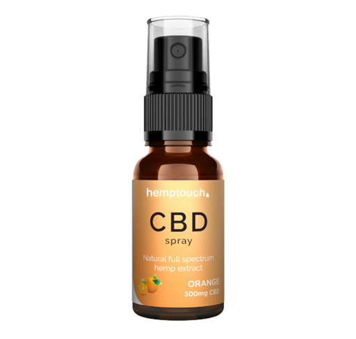 CBD Mundspray - 300mg - 20ml - Orange