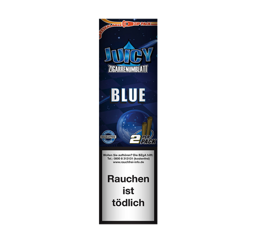 Juicy Blue Blunt Wraps ( Blueberry)